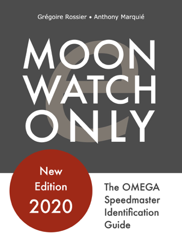 Libro Moonwatch Only – The Speedmaster Identification Guide – Grégoire Rossier