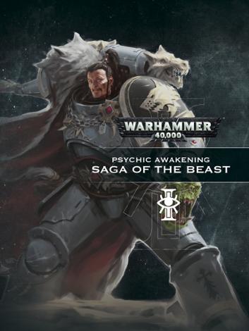 Libro Psychic Awakening: Saga of the Beast – Games Workshop
