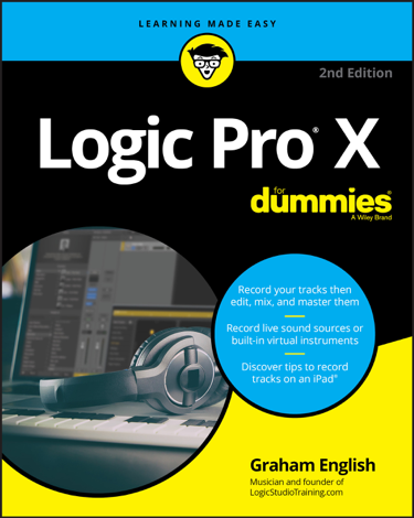 Libro Logic Pro X For Dummies – Graham English