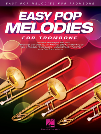 Libro Easy Pop Melodies for Trombone – Various Authors
