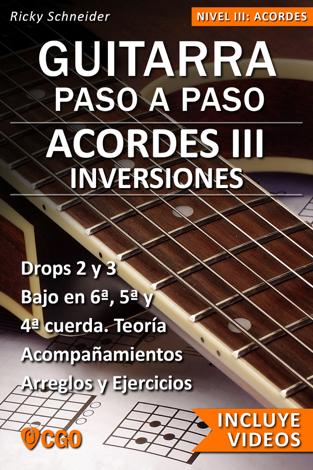 Libro ACORDES III, Guitarra Paso a Paso con Videos HD – Ricky Schneider