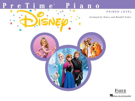Libro PreTime  Piano Disney: Primer Level – Nancy Faber & Randall Faber