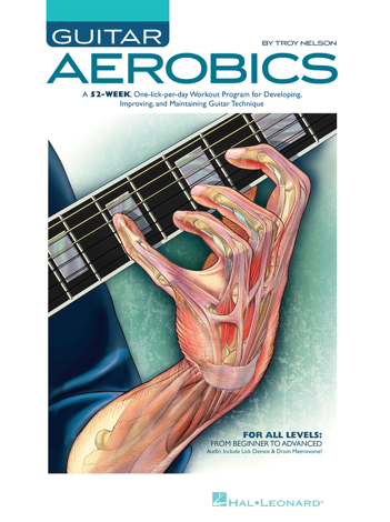 Libro Guitar Aerobics (with Audio) – Troy Nelson