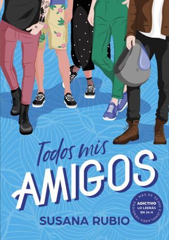 Libro Todos mis amigos – Susana Rubio