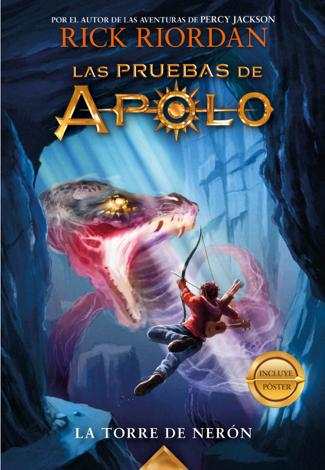 Libro La torre de Nerón (Las pruebas de Apolo 5) – Rick Riordan